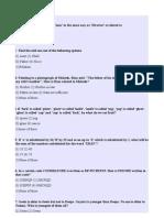 Written Test Sample Paper