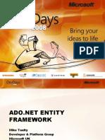 DocumentsADO.net Entity Framework DevDays