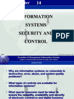 Chapter14 Information Systems Security and Control