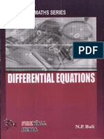 Differential Equations (Golden Maths Series) - N. P. Bali