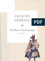 Derrida - The Beast and the Sovereign