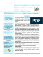 Boletin Epidemiologico 04-2011