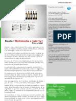 Master Multimedia e Internet Presencial