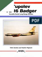 Aerofax Tupolev Tu-16 Badger
