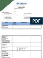ASEAN-NDI Planning Checklist