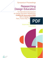 Researching Design Education