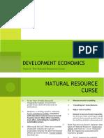 Natural Resource Curse