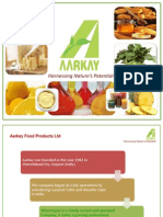 Aarkay Food product Ltd