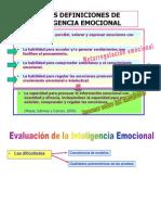 Evaluacion de La Inteligencia Emocional