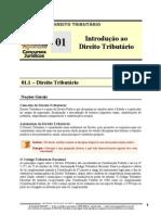 TRB 01 - Introdução ao Direito Tributário