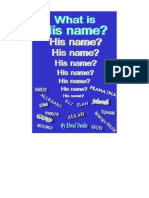 What is His Name?!!