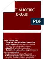 Anti Amoebic Drugs