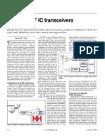 Tutorial Modeling RF IC Transceivers