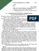 R v Metropolitan Police Commissioner Ex Parte Blackburn (No. 2)