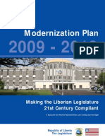 Liberia Parliament Modernization Plan 2009-20013- Copy
