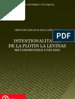 Cristian Ciocan Si Dan Lazea (Ed.) Intentional It a Tea de La Plotin La Levinas Enc