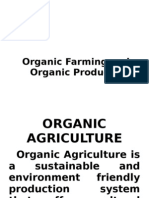 Organic Farming and Products