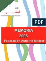 Memoria Anual 2008 Autismo Madrid