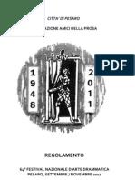 Regolamento Pesaro