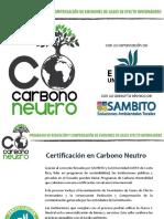 Carbono Neutralidad SAMBITO