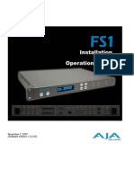 AJA Manual Fs1