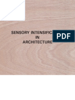 Sensory Intensification in Architecture by Kamiel Van Kreij