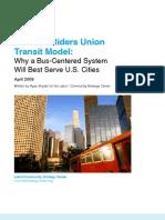 The Bus Rider's Union Transit Model