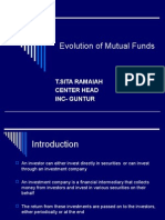 Evolution of Mutual Funds