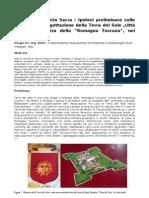 Geometria Sacra Ipotesi preliminari sulle modalità di progettazione della Terra del Sole,città ideale e fortezza della Romagna Toscana,nei pressi di  Forli