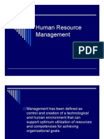 Microsoft Power Point - BA 1654 Introduction to HRM Lecture I