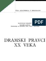 Dramski Pravci XX Veka - Selenic (Idio)