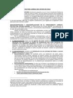 Estructura Juridica Del Estado de Chile