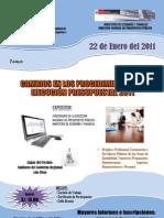 Afiche curso presupuesto