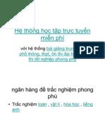 Situ.vn He Thong Hoc Tap Truc Tuyen Mien Phi