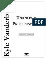 Unknown Precipitation