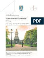 Evaluation of Eurocode 7