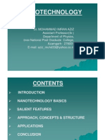 Nanotechnology,Ppt by Dr.imran Aziz [Compatibility Mode]