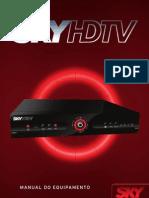 Manual Do Equipamento SkyHDTV