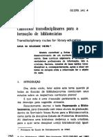 Vieira Caminhos Transdisciplinares Bibliotecario