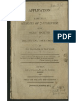 Application of Barruels Memoirs of Jacob in Ism 1798
