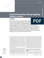 Essential properties of drug-targeting delivery systems