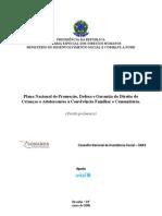 Plano Nacional de Promoção, Defesa e Garantia do Direito