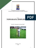 Topografia Simplificada - Manufatura de equipamentos topográficos alternativos para simples trabalhos topográficos agrícolas