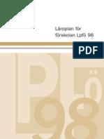 Curriculum Pentru Prescolari Suedia