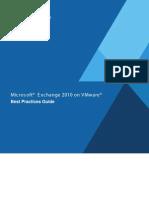 Exchange 2010 on VMware - Best Practices Guide