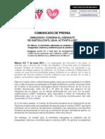 OMBUDSGAY CONDENA EL ASESINATO DE QUETZALCÓATL LEIJA, ACTIVISTA LGBT