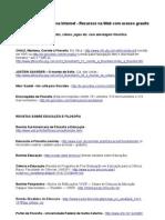 documentos filosofia de graça web