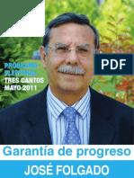 Programa Electoral Partido Popular Tres Cantos 2011