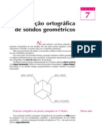 Aula 07-Projeção ortográfica de sólidos geométricos