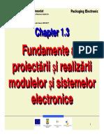 Fundamente Ale Proiectarii Modulelor Electron Ice